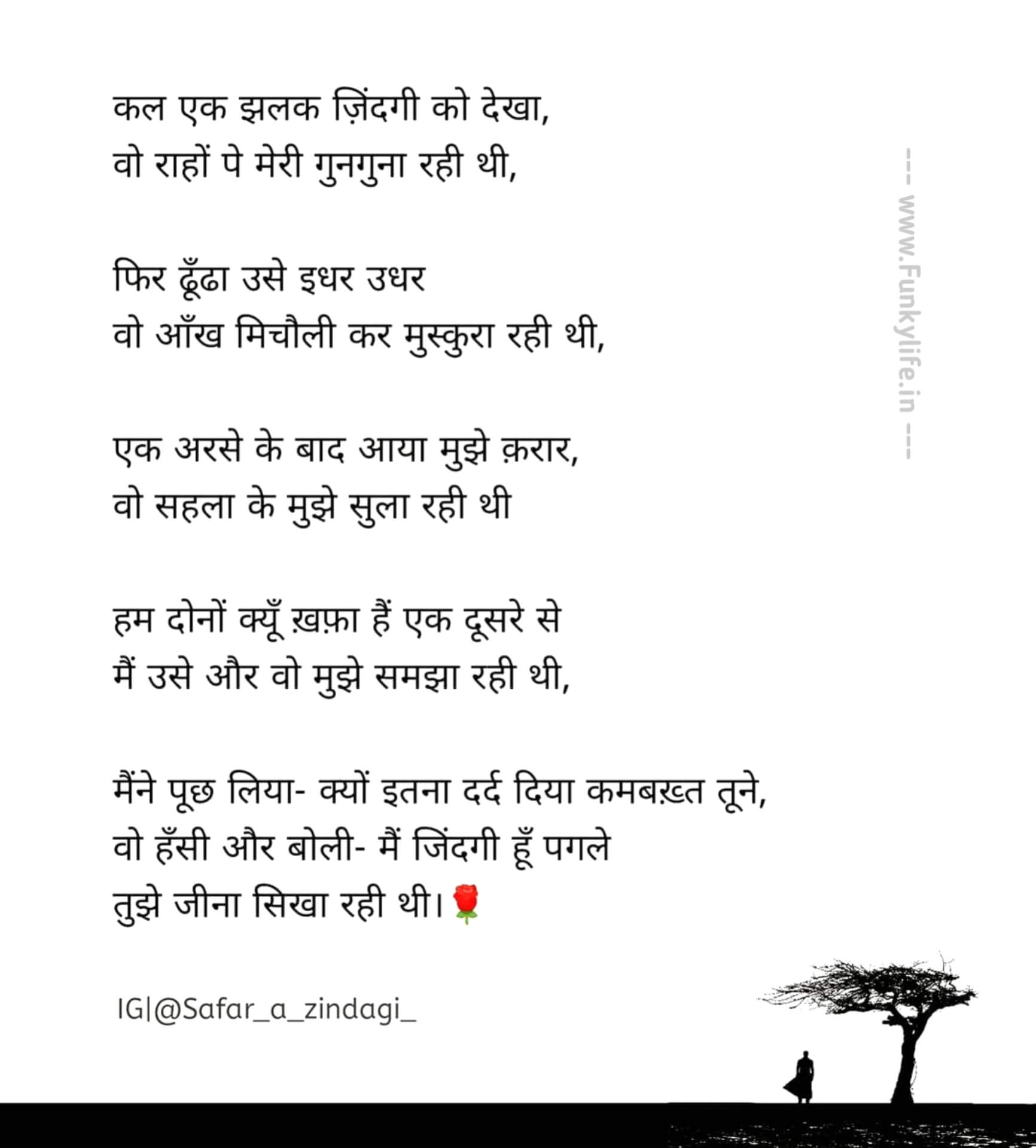 Hindi Poetry Hindi Kavita Funky Life 6