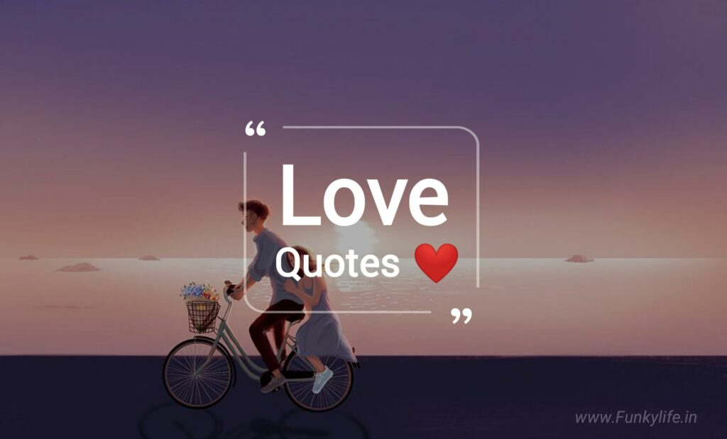 Love Quotes In English