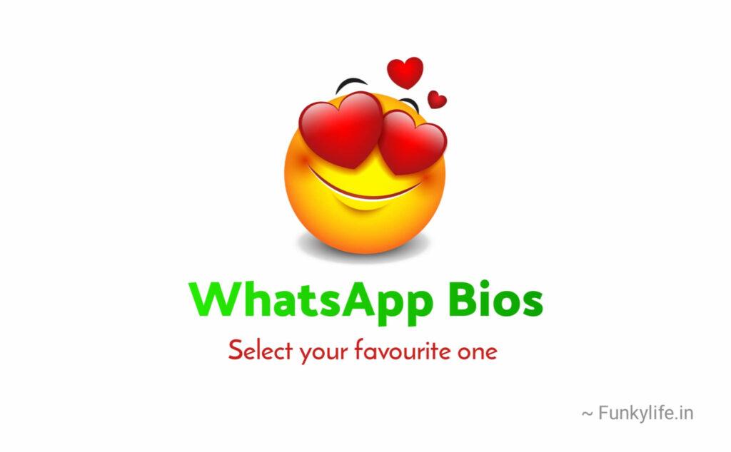 WhatsApp Bio Caption in English