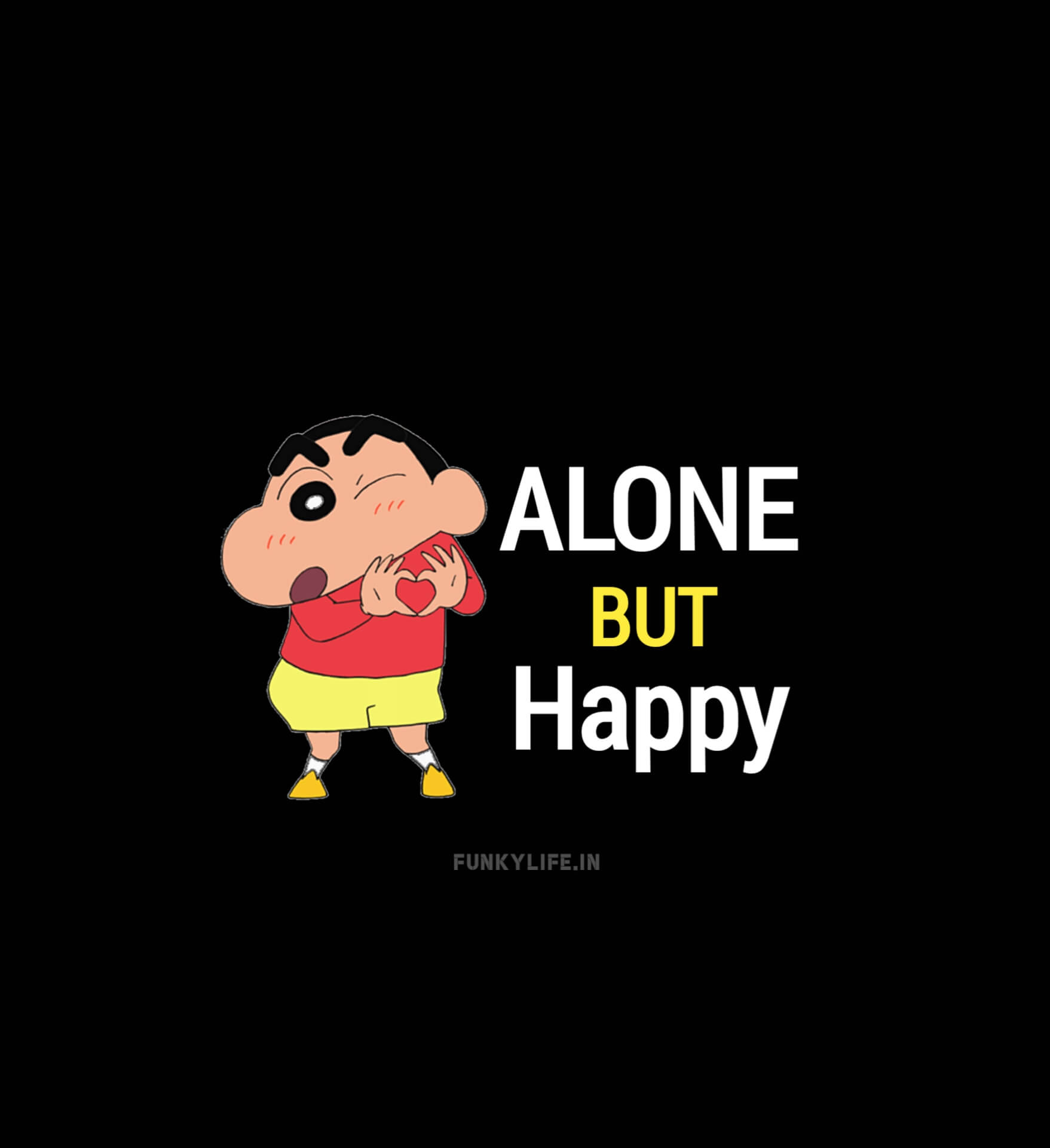 Alone But Happy DP