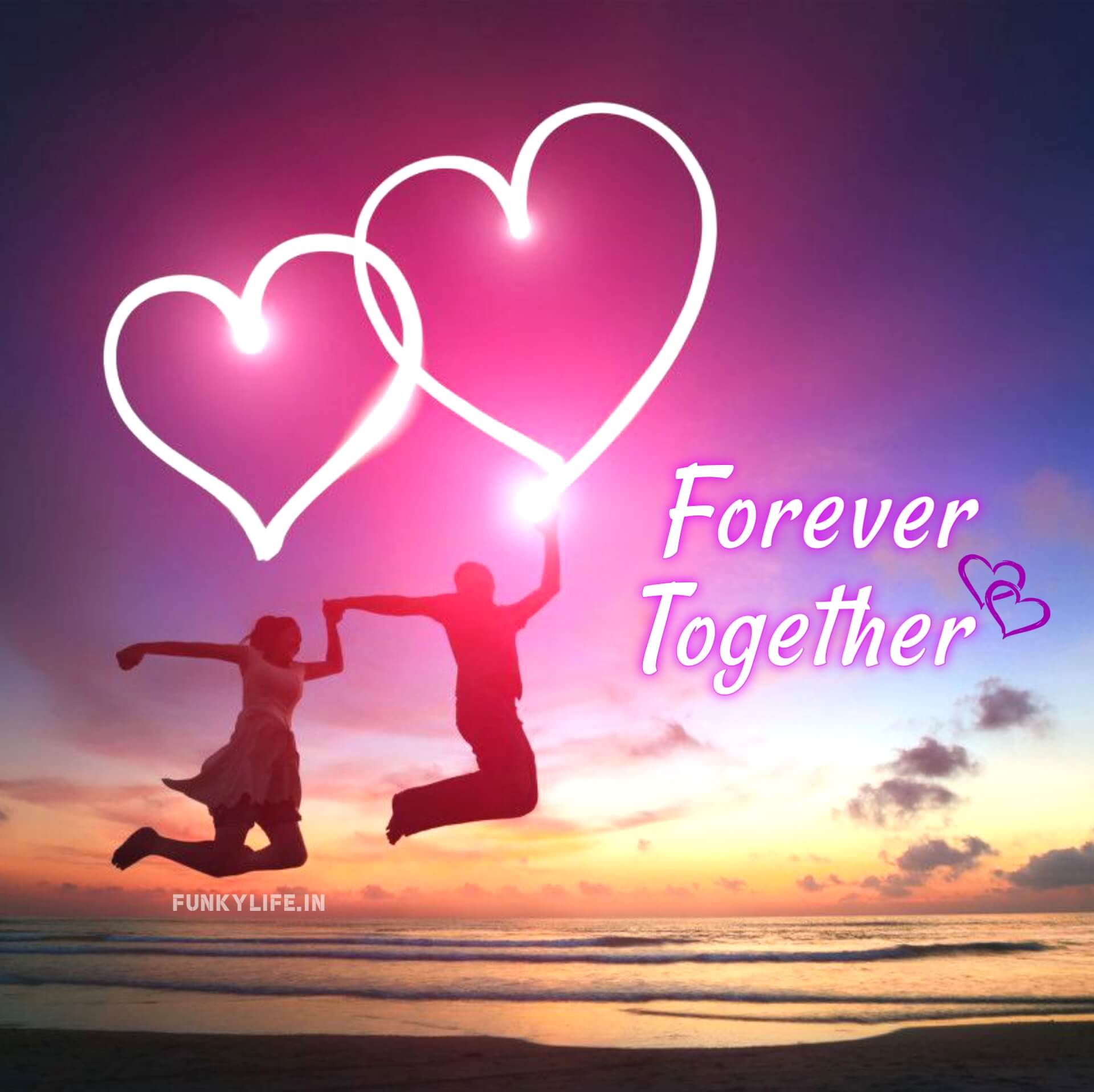 Forever Together Love WhatsApp DP
