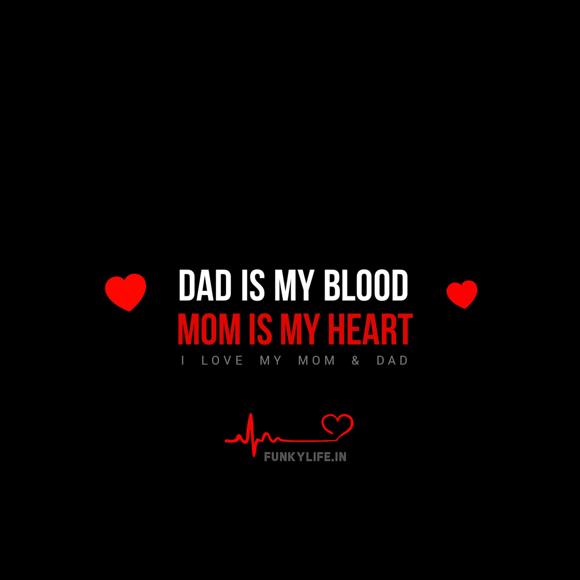 Best Mom And Dad WhatsApp DP