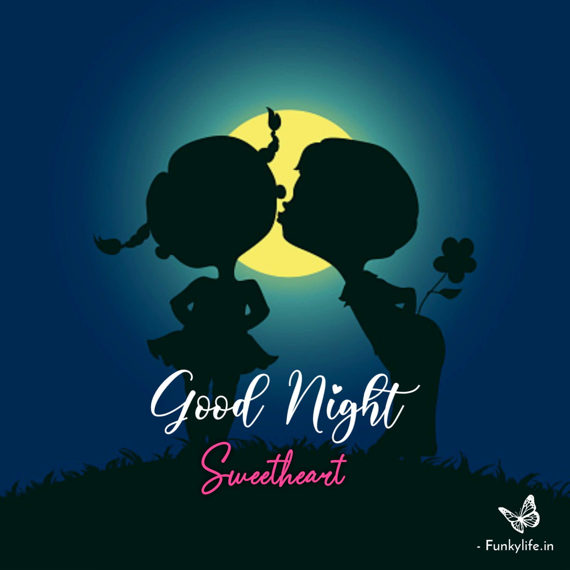 Good Night Couple Images With Love