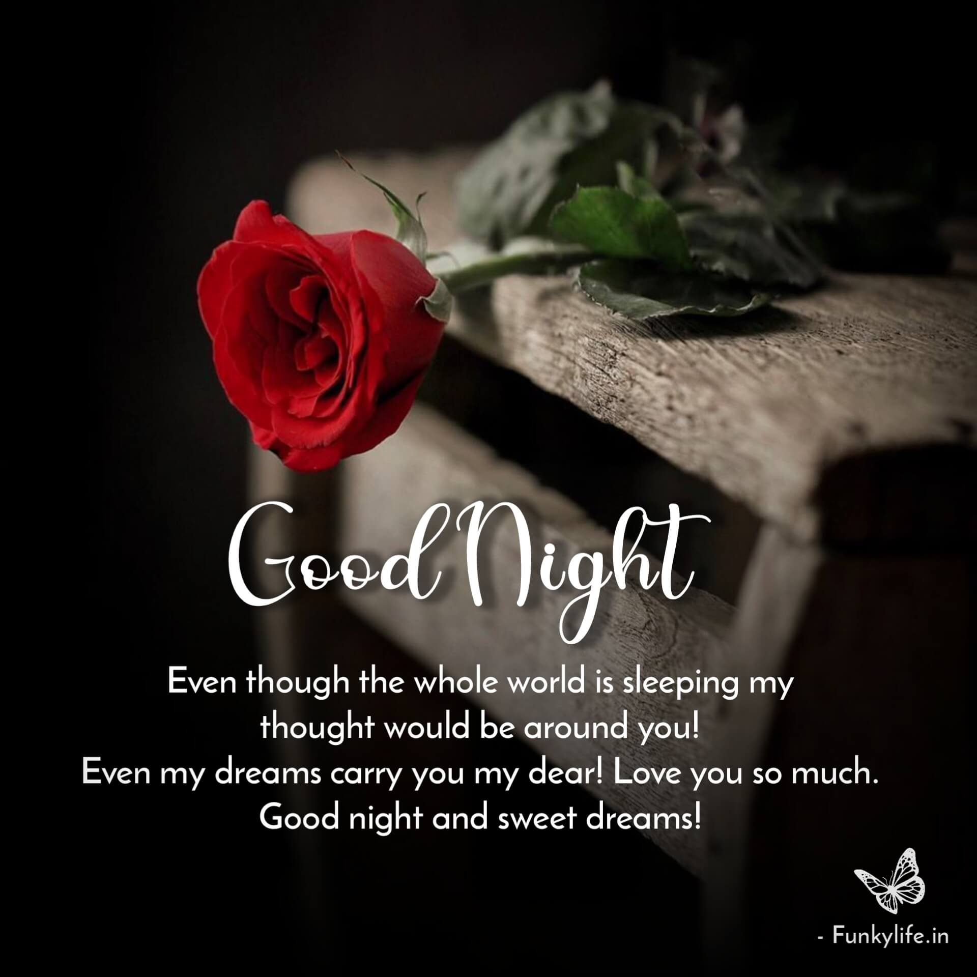 good night with quotes
