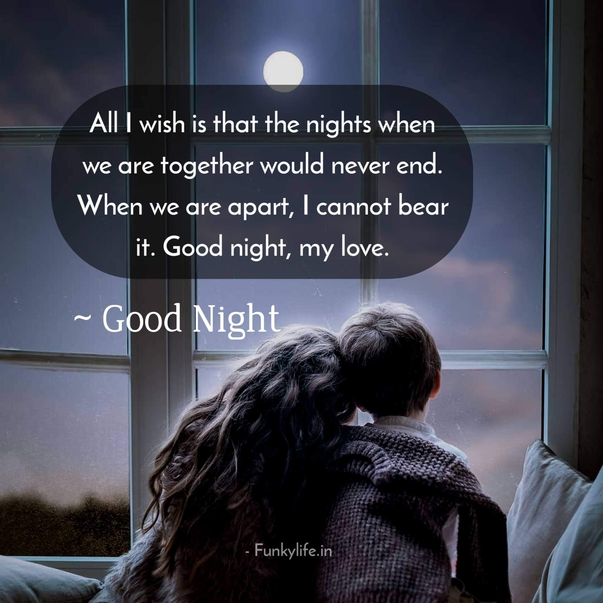 For boyfriend goodnight message 80 Relaxing