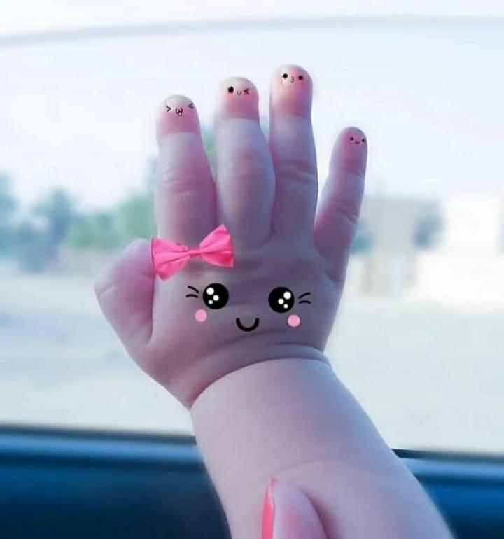 Baby Hand WhatsApp DP