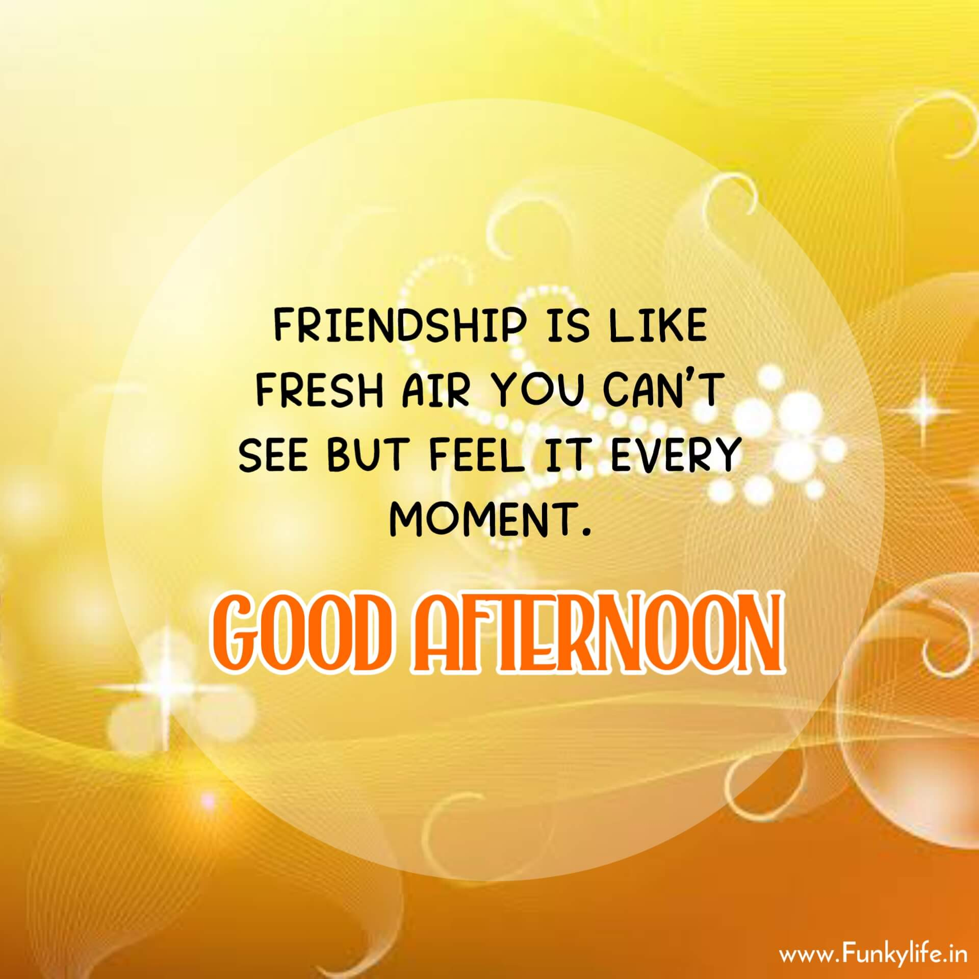 Friendship Good Afternoon Images with Quotes