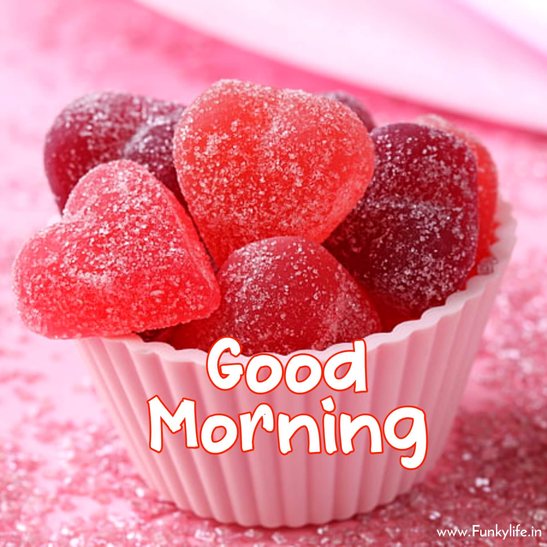 Candy good morning pic