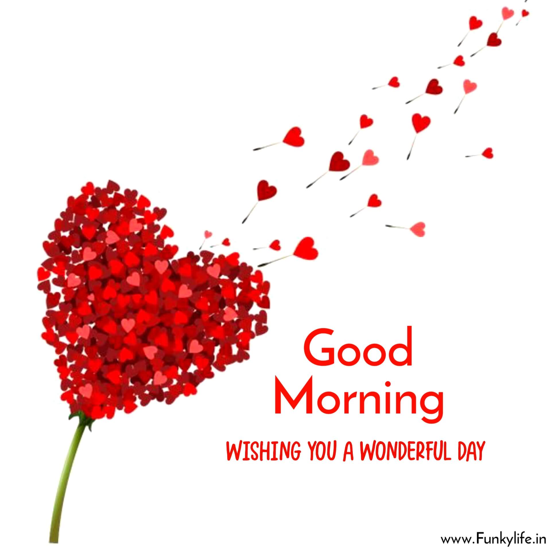 Hearts good morning picture