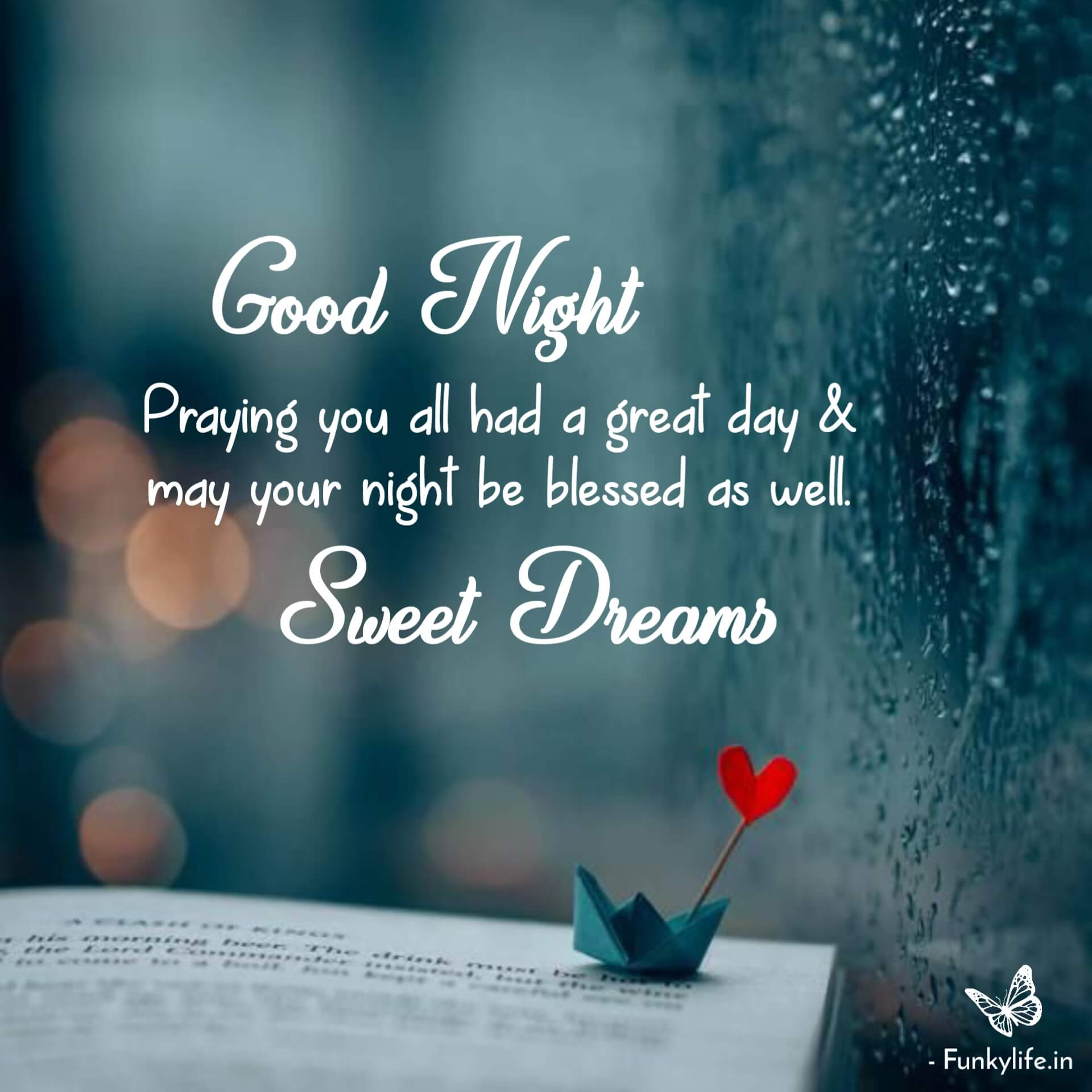 Good Night Quotes with Picture