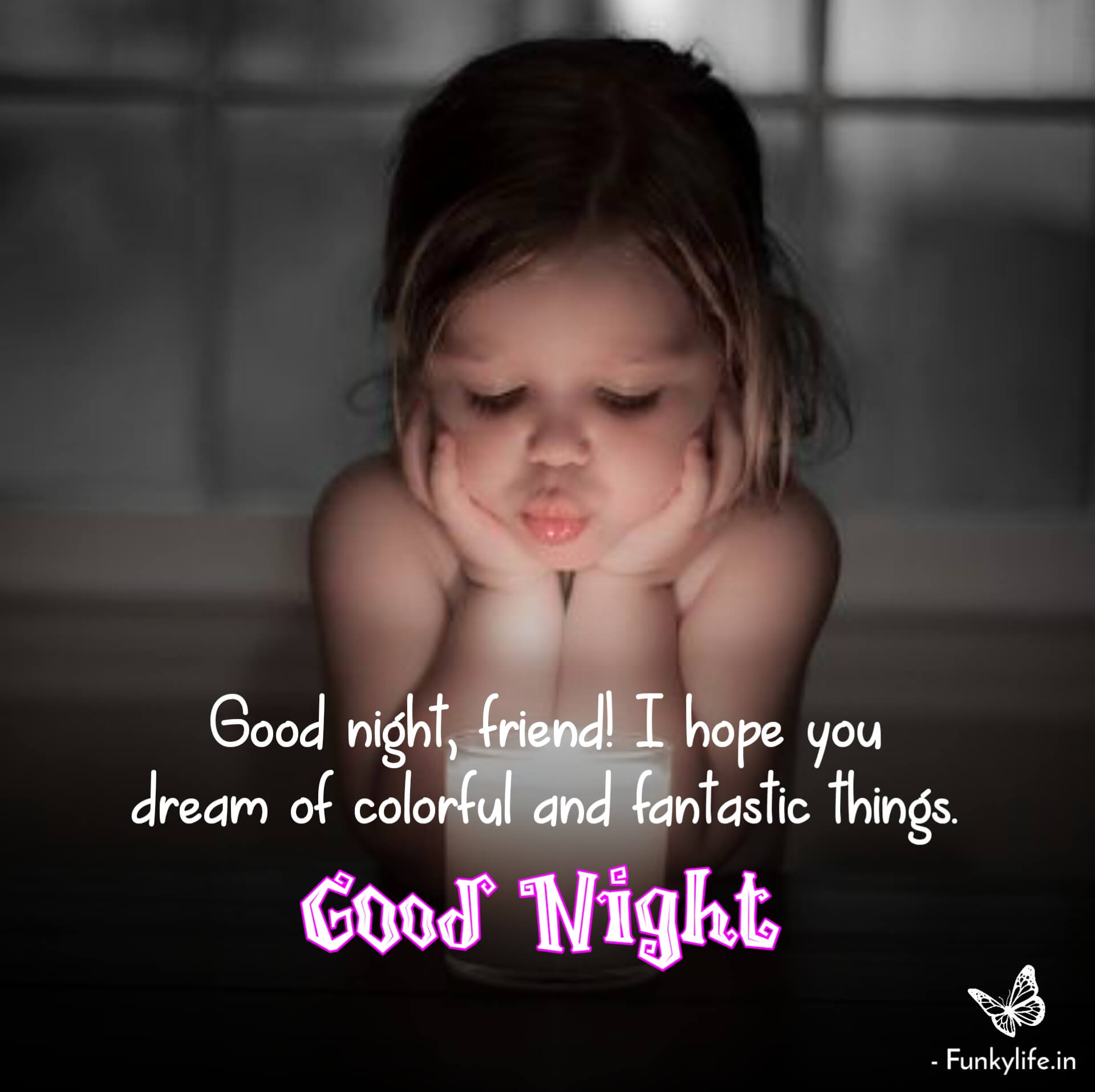 Good Night Quotes for Friends Pic