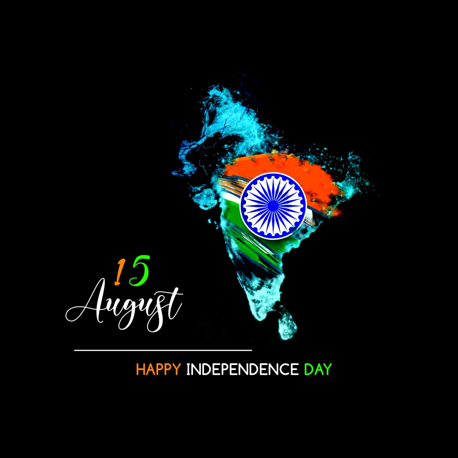 Unique India Independence Day Pic