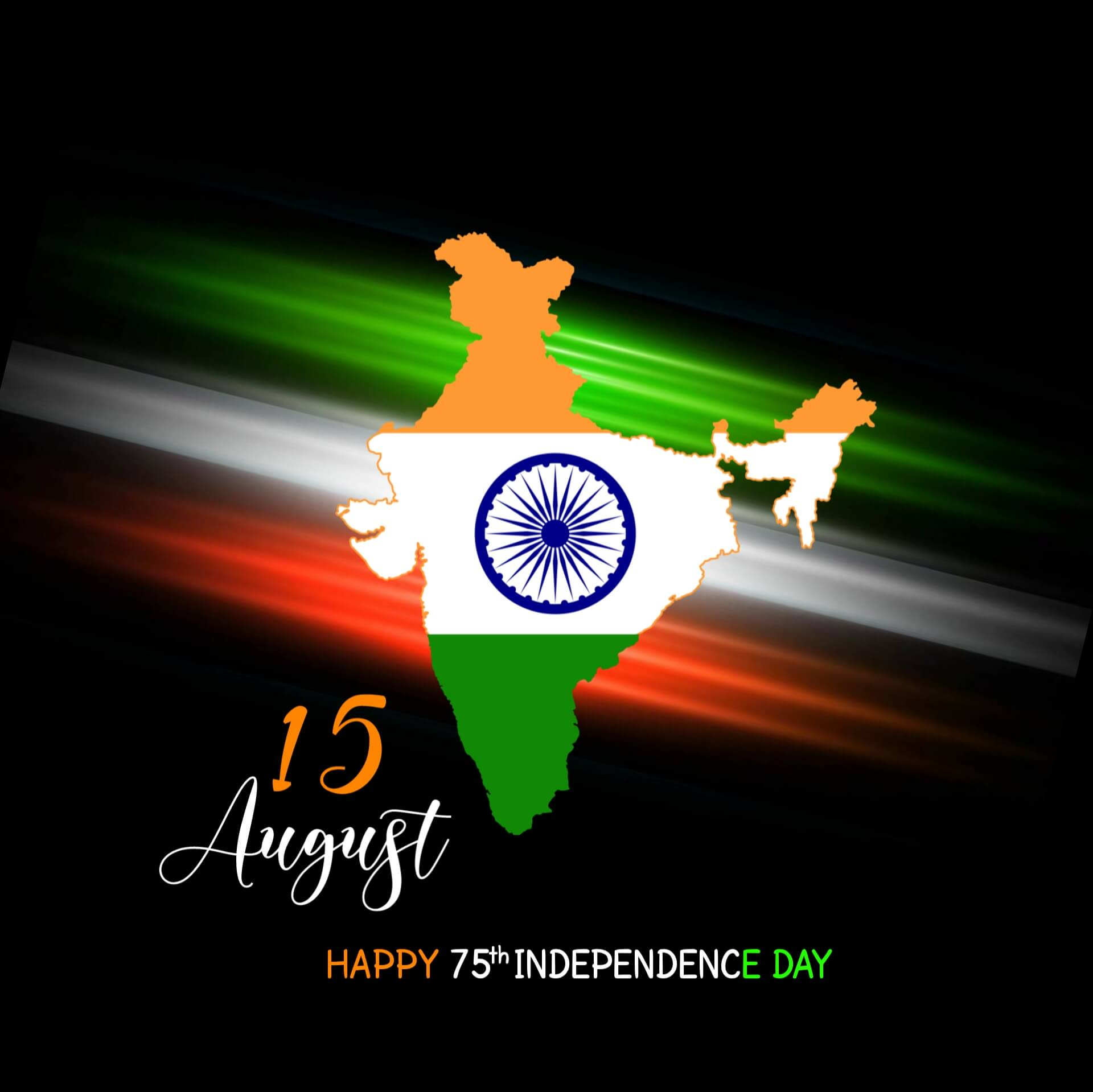 India Map Independence Day Images