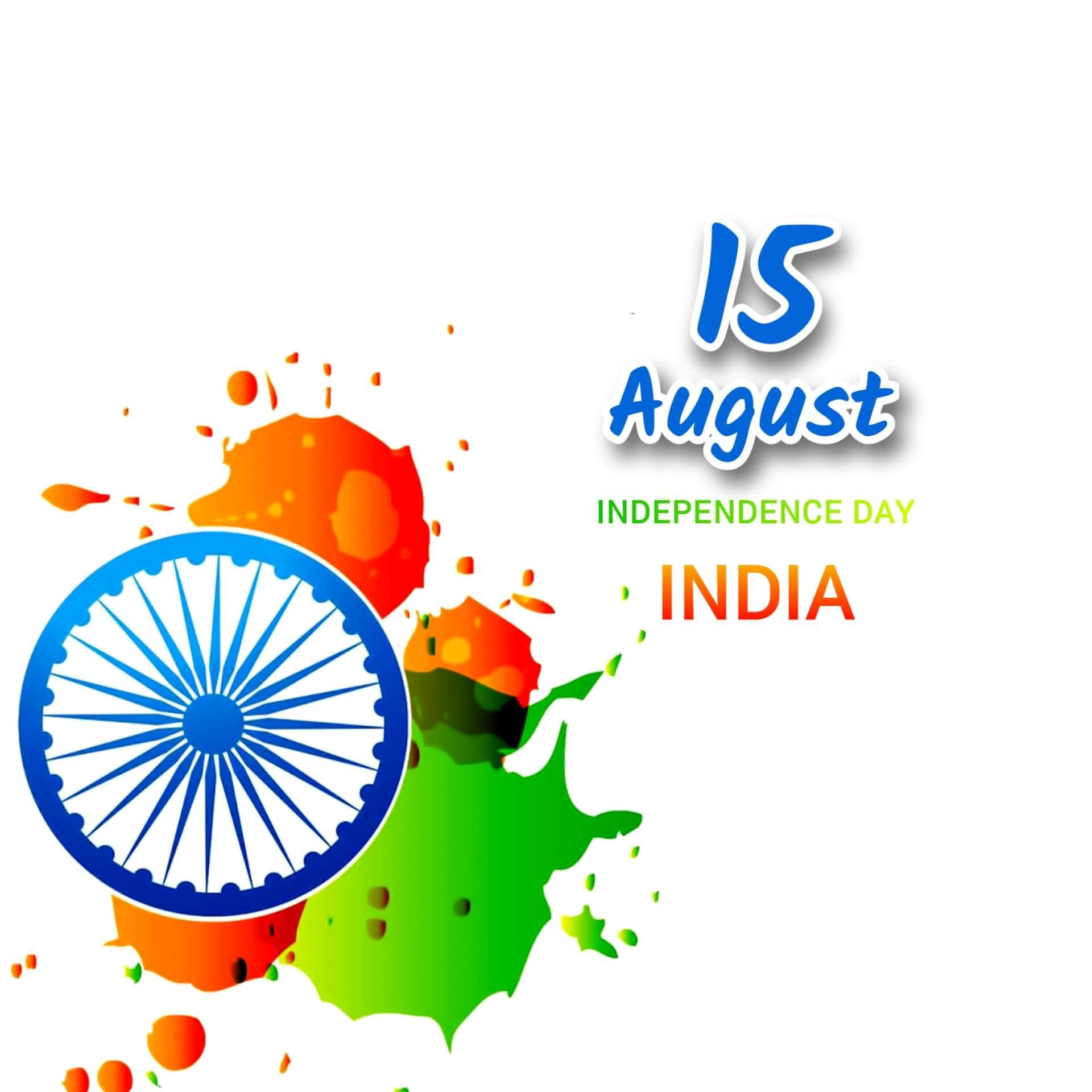 15th August Happy Independence Day India Photo