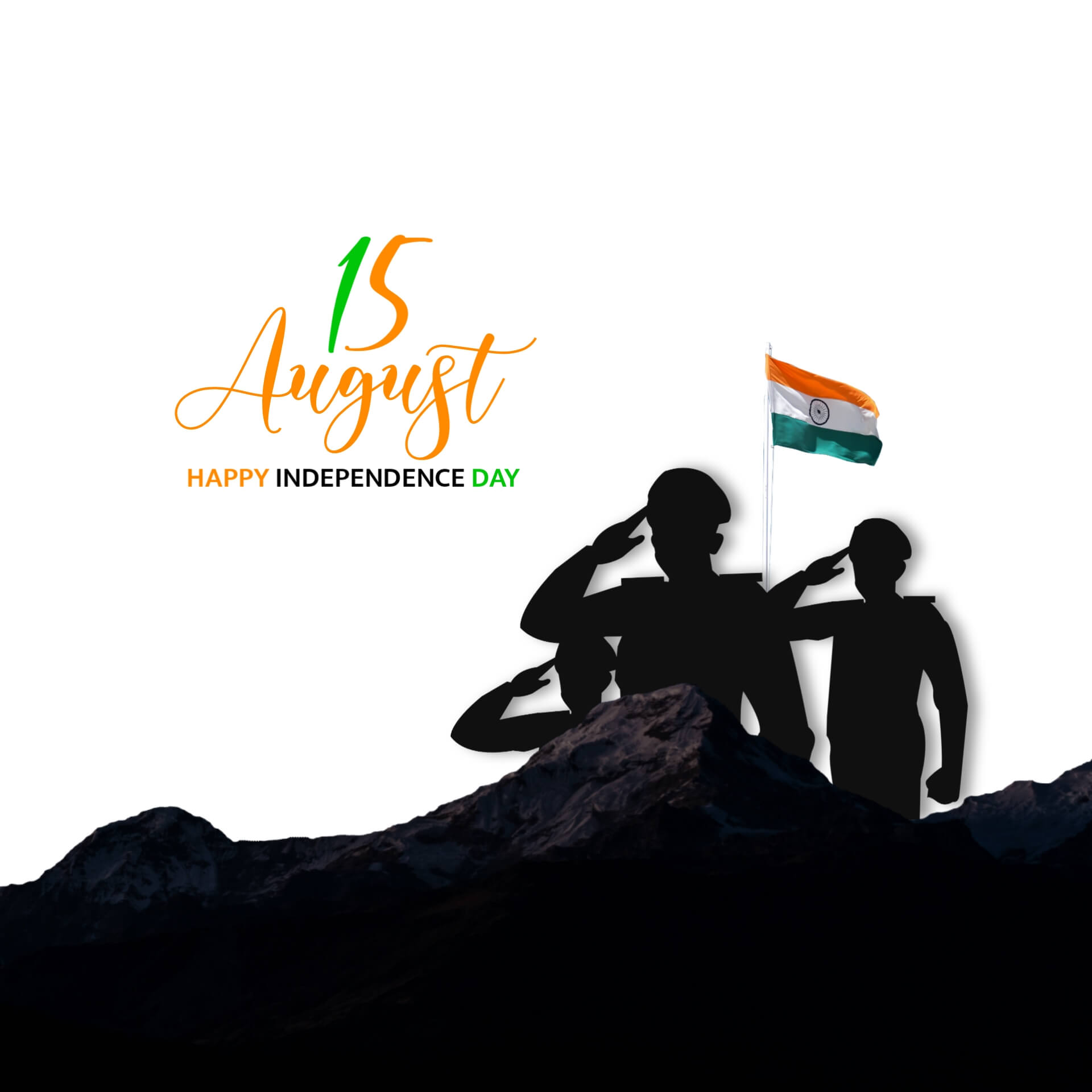 Salute Indian Army Independence Day Pic