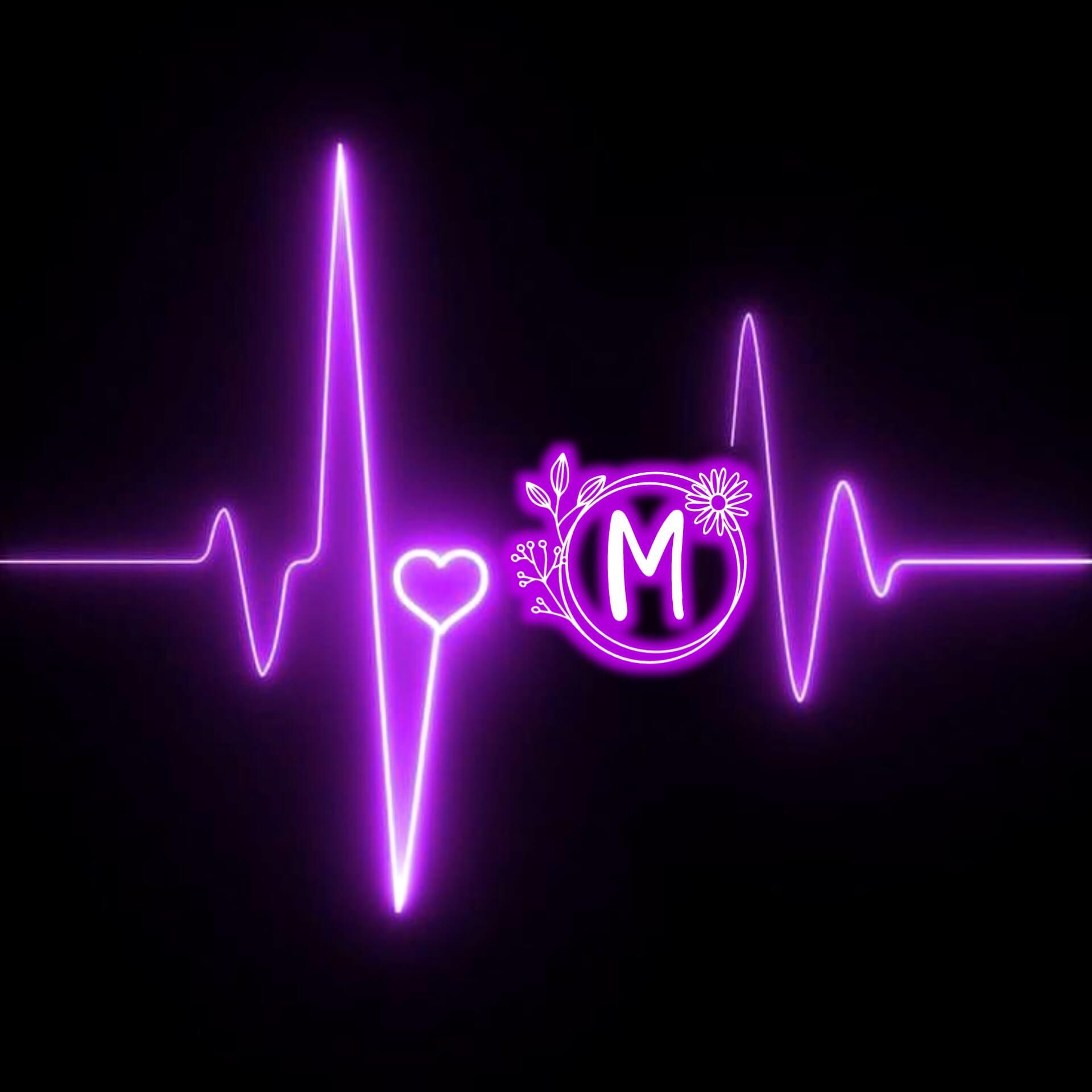 M Letter Love DP