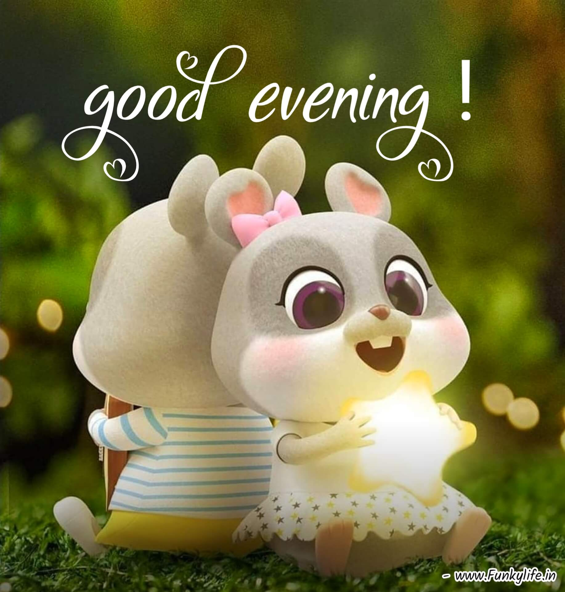 Cute Good Evening images