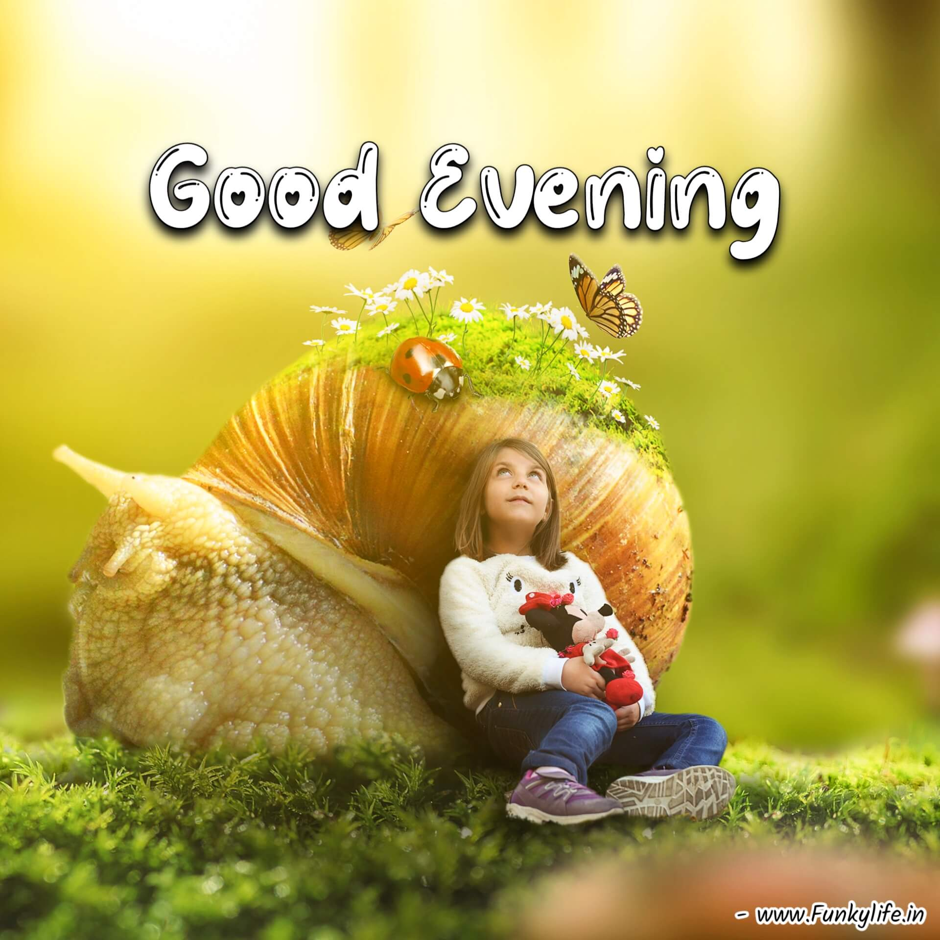 Girl Good Evening Picture