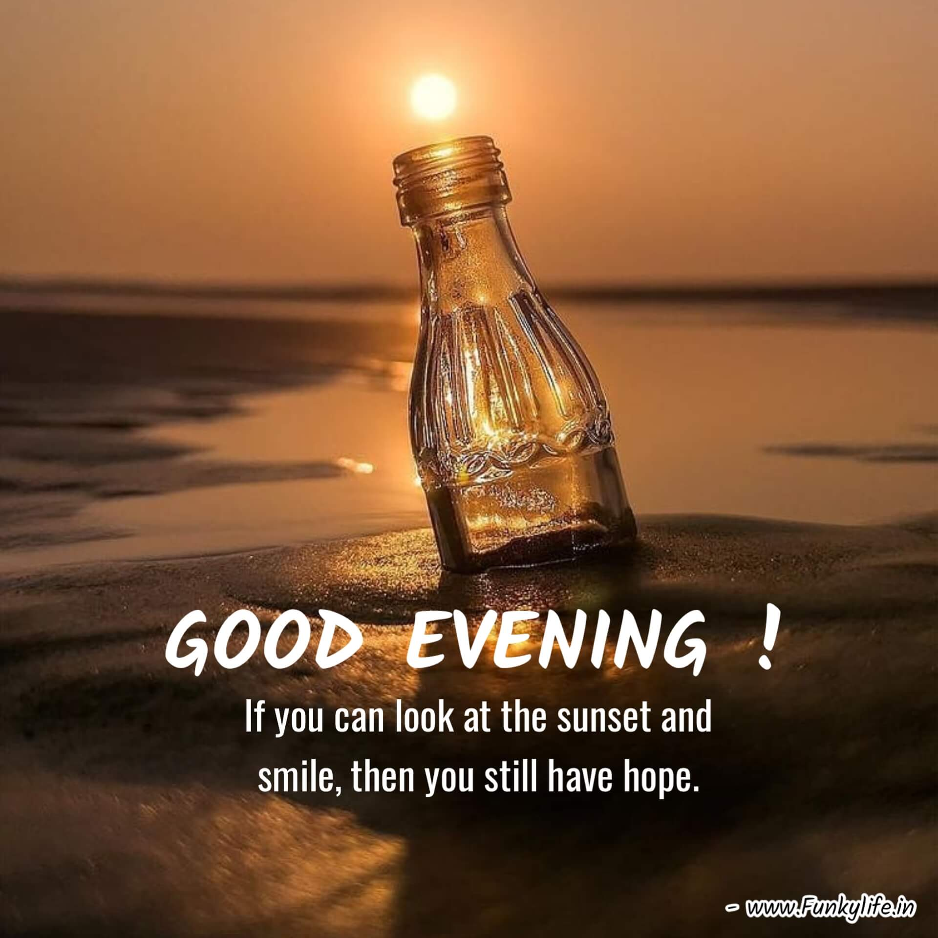 Inspirational Good Evening Images with Quotes
