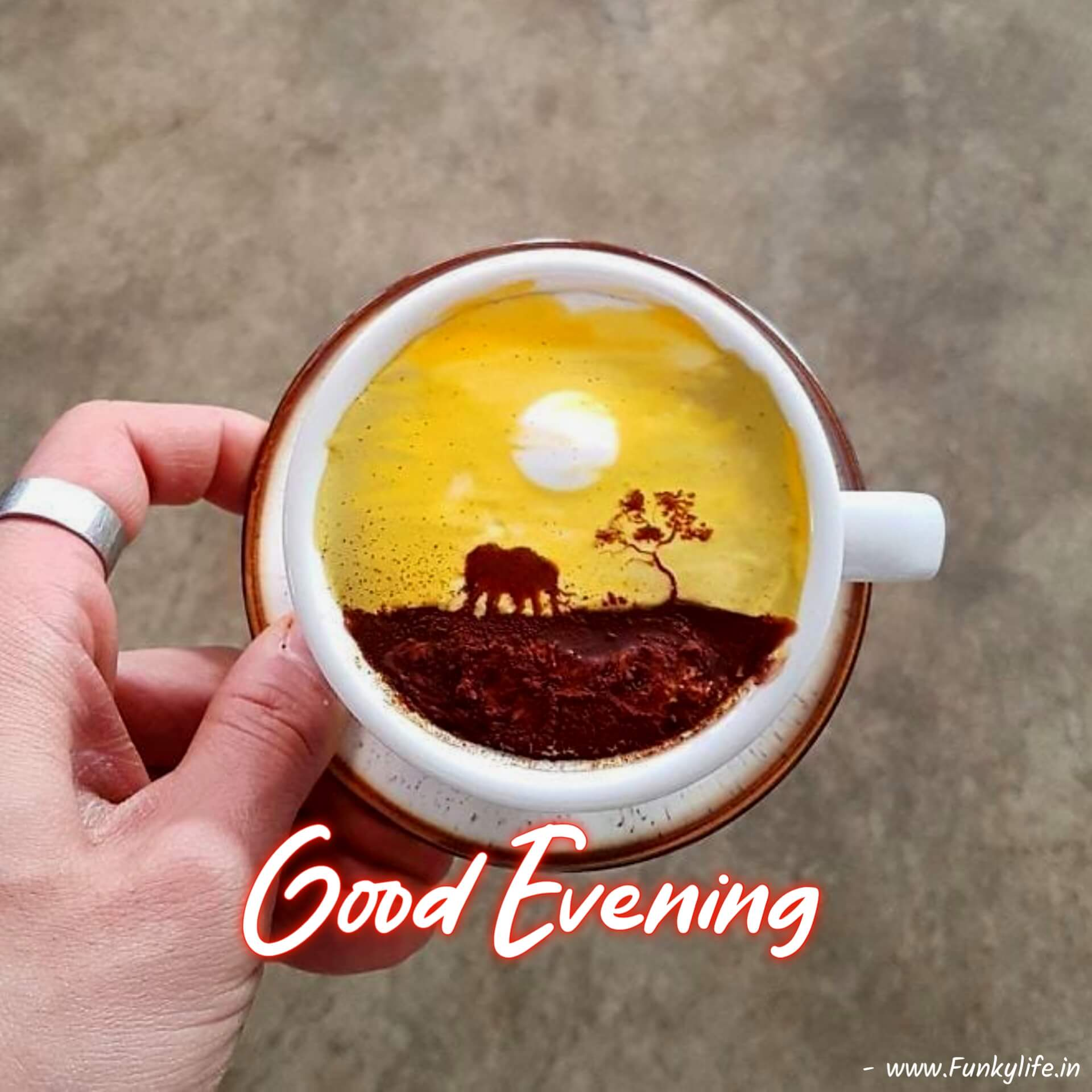 Coffee Cup Good Evening Images