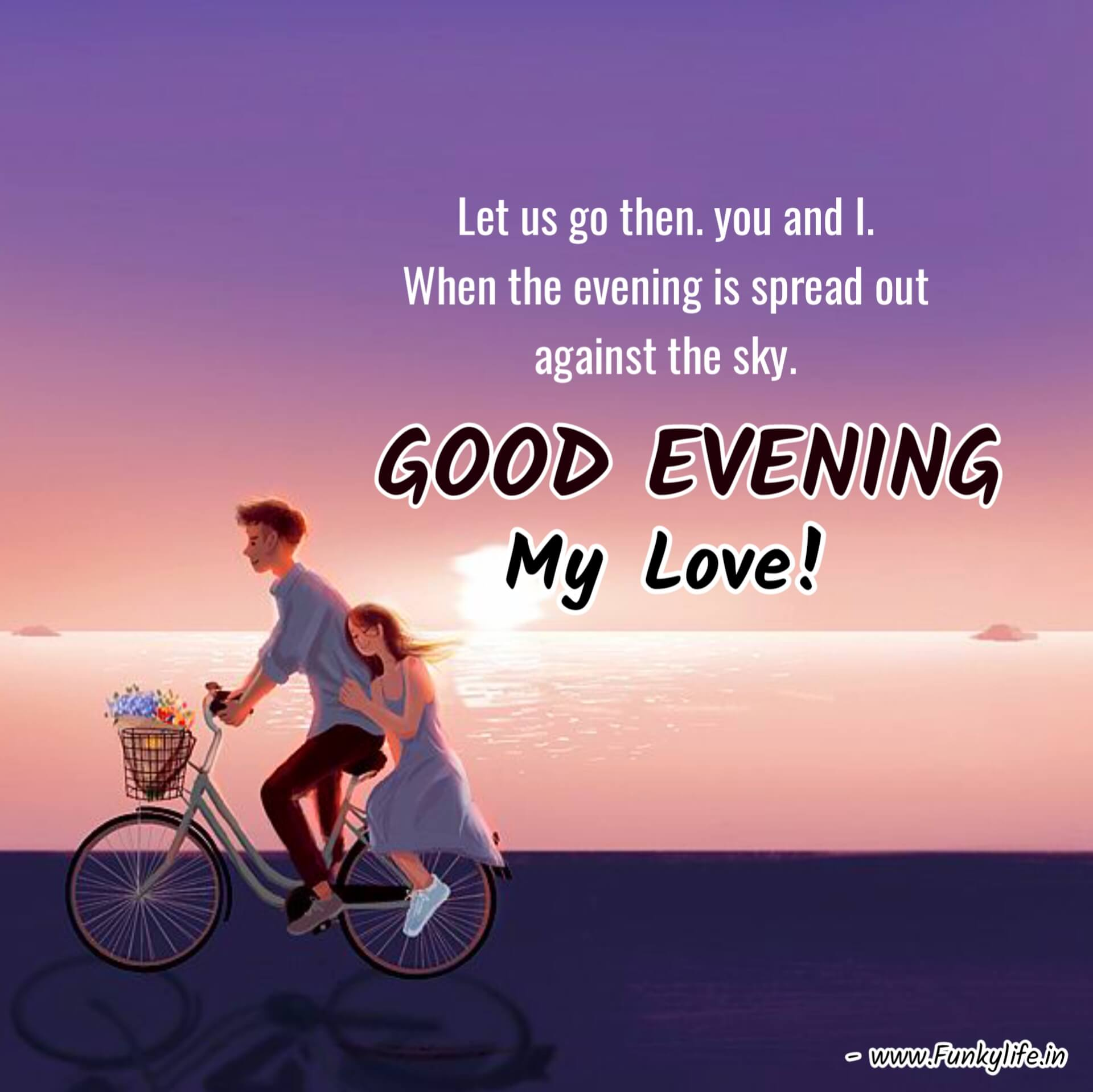 Love Good Evening Images with Quotes