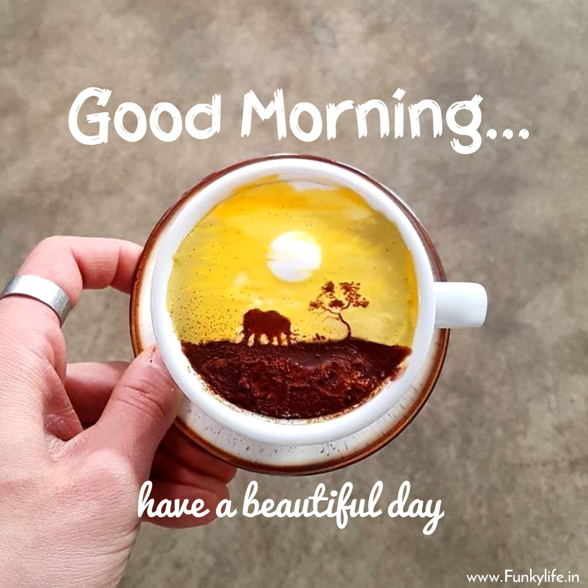 Cup Good Morning Wishes Images