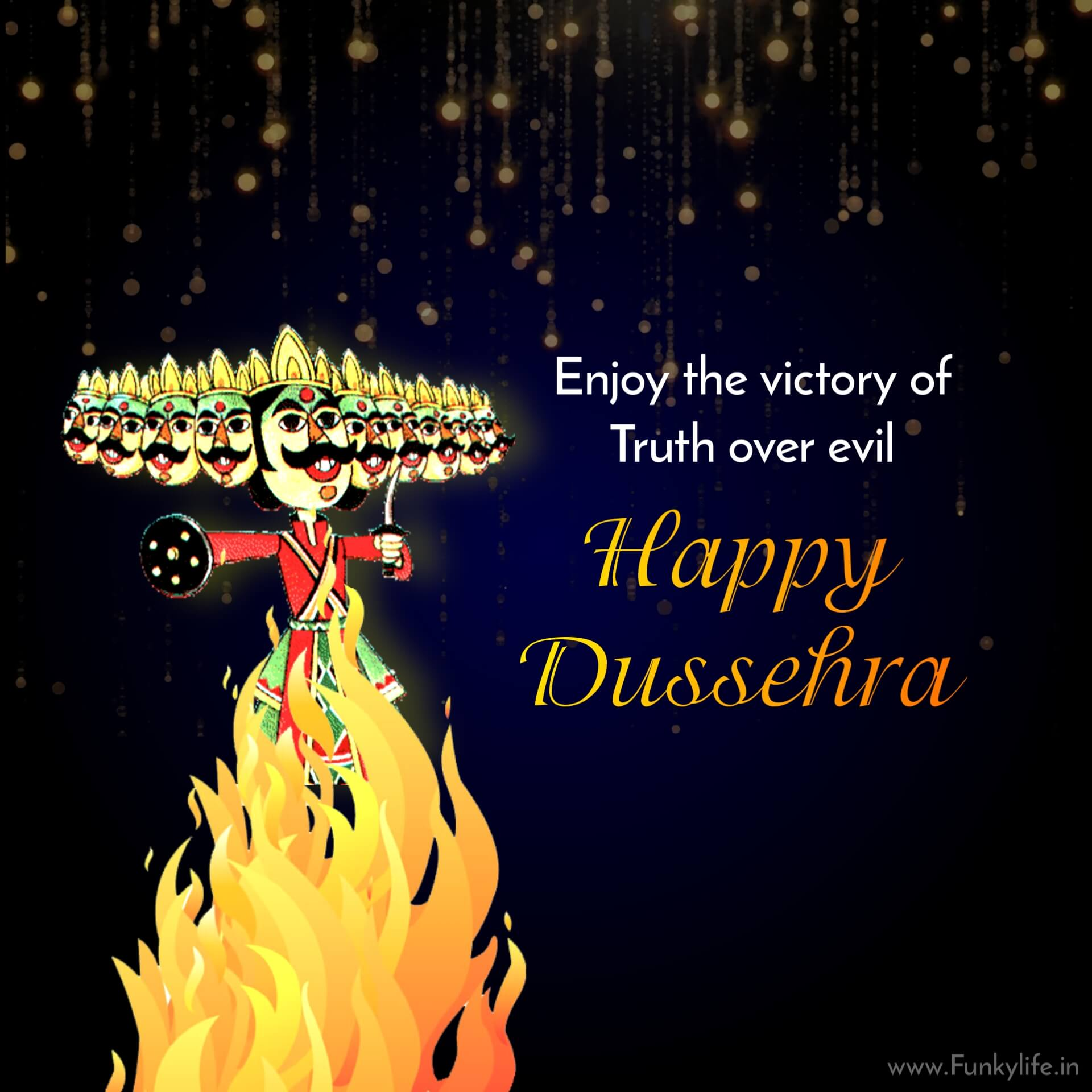 Happy Dussehra Wishes Pic