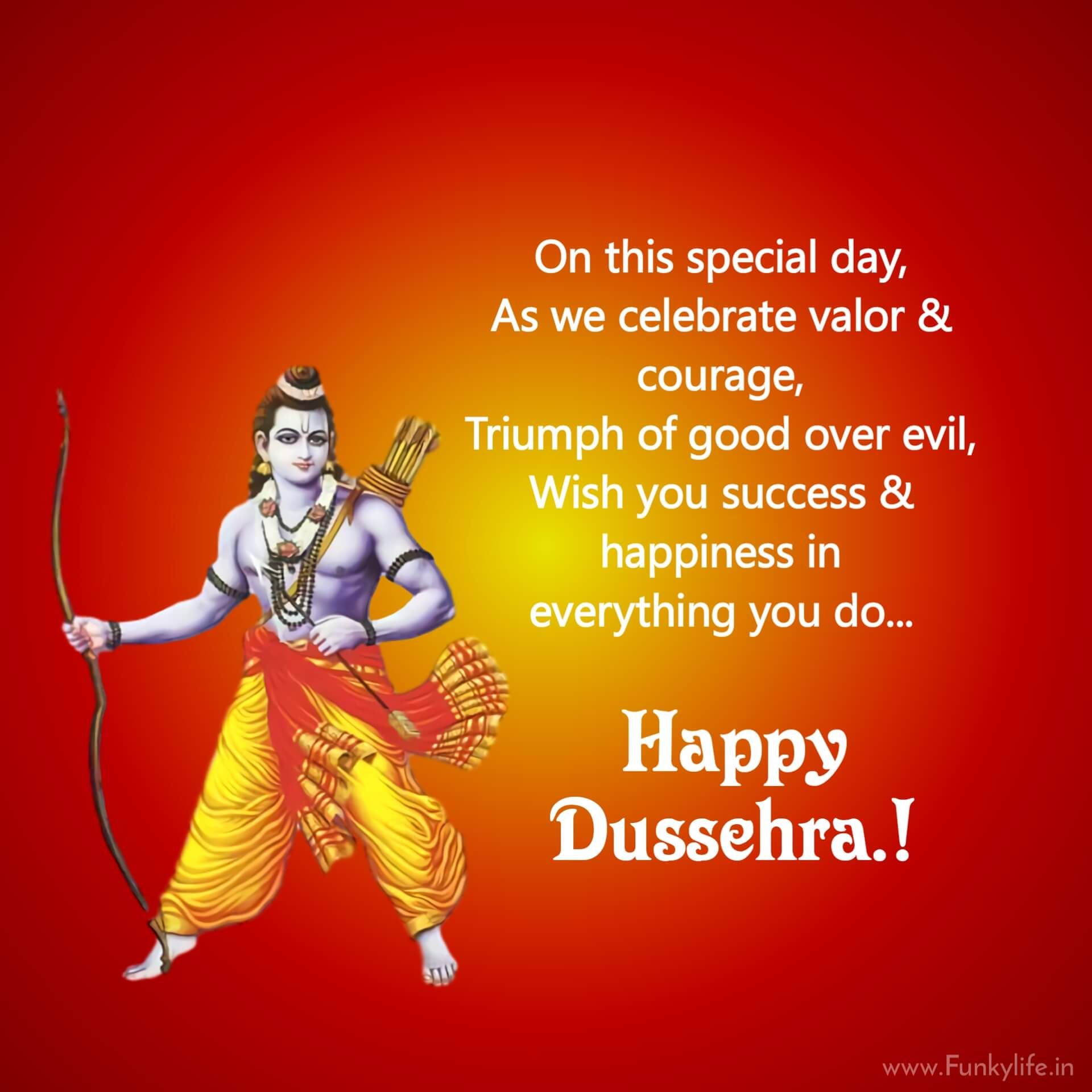 Dussehra wishes Quotes