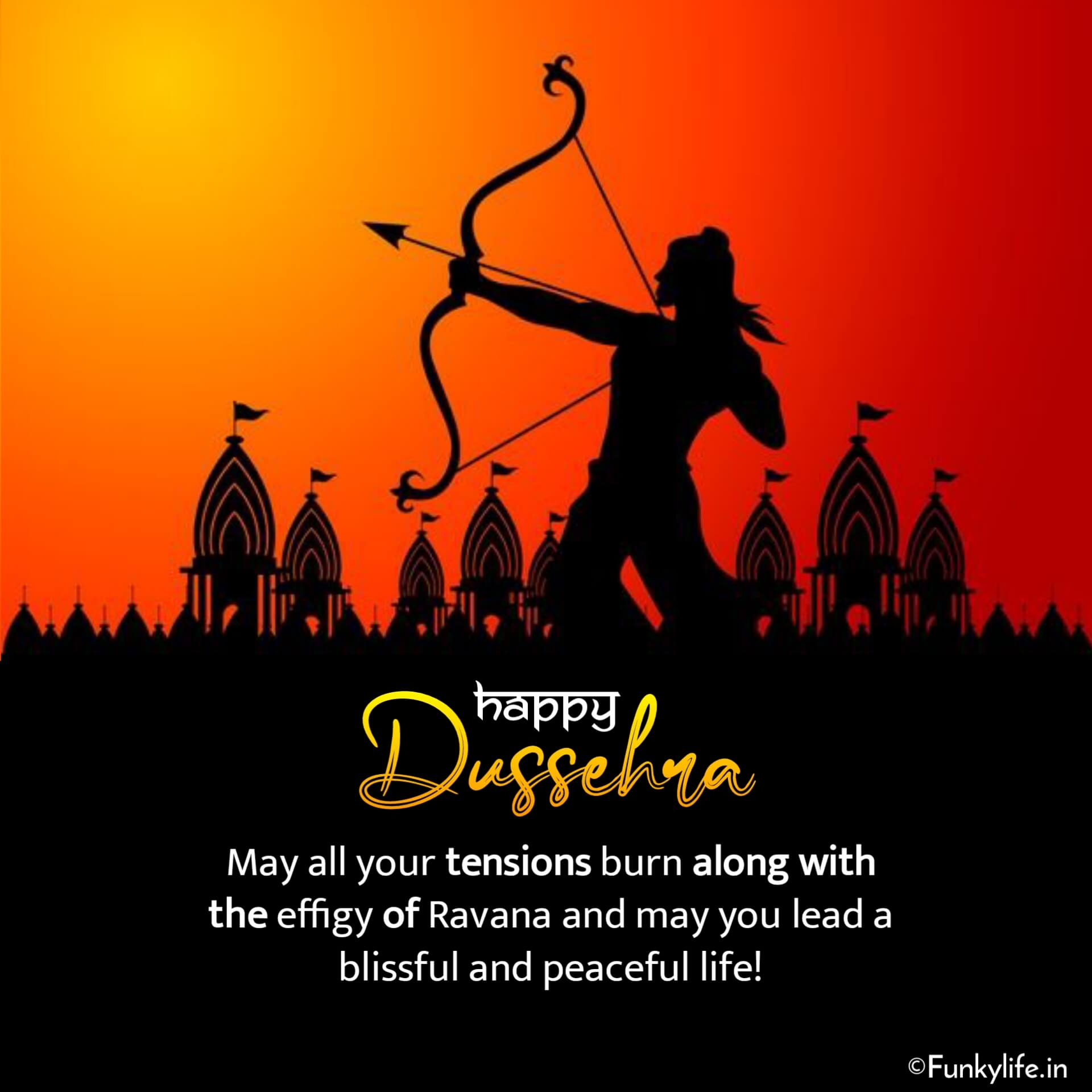 English Dussehra Wishes Images